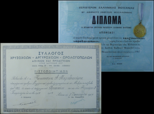 certificates small