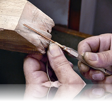 Technical Expertise<br>What differentiates us from the competition is the combination of traditional techniques along with the endless patience of the craftsman to fulfill the potential of each original design.
